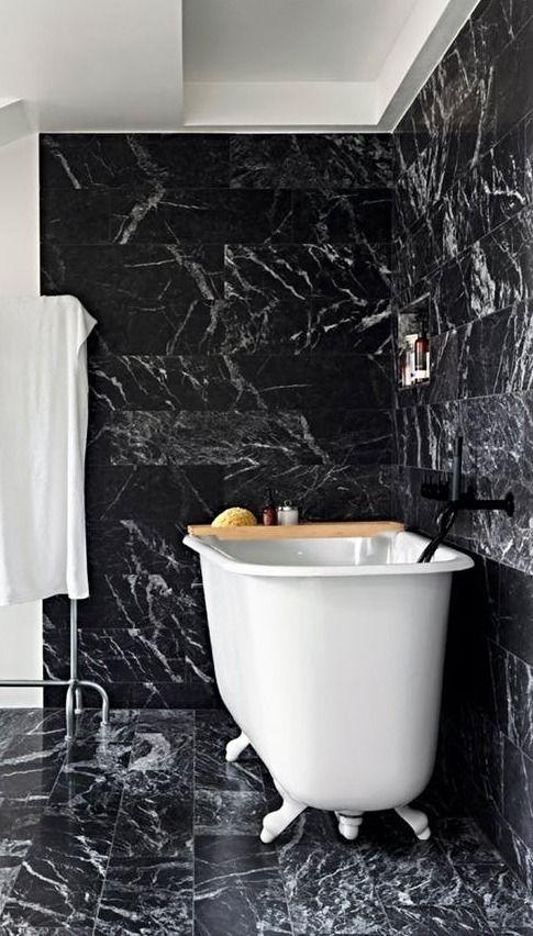 Look We Love Black Marble In The Bathroom Bathroom Styling Bathroom Style Bathroom Decor