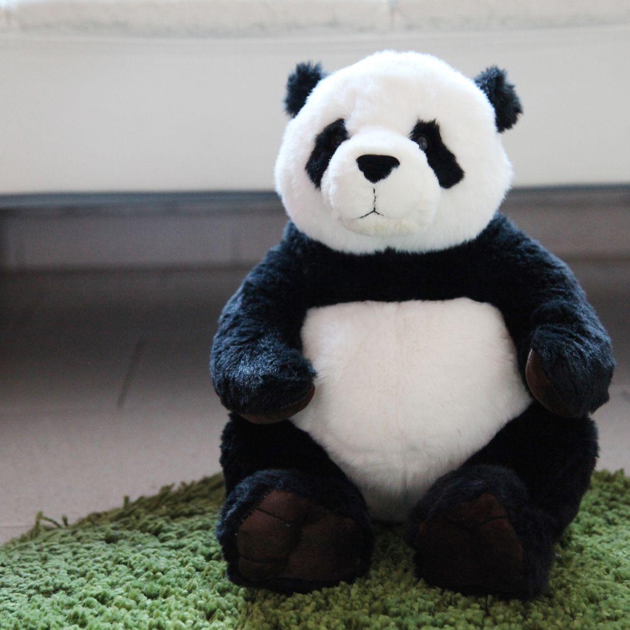 oso panda de peluche de la marca keel toys de extrema suavidad te encantar por su ternura y. Black Bedroom Furniture Sets. Home Design Ideas