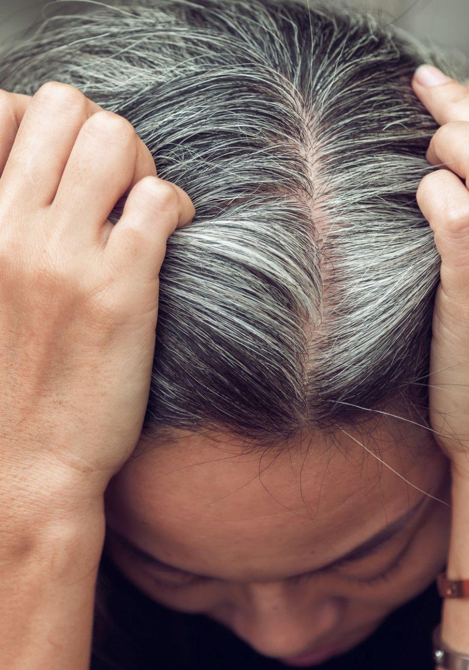 8 Hair Mistakes That Make You Look 10 Years Older Hair Mistakes Covering Gray Hair Aging Hair