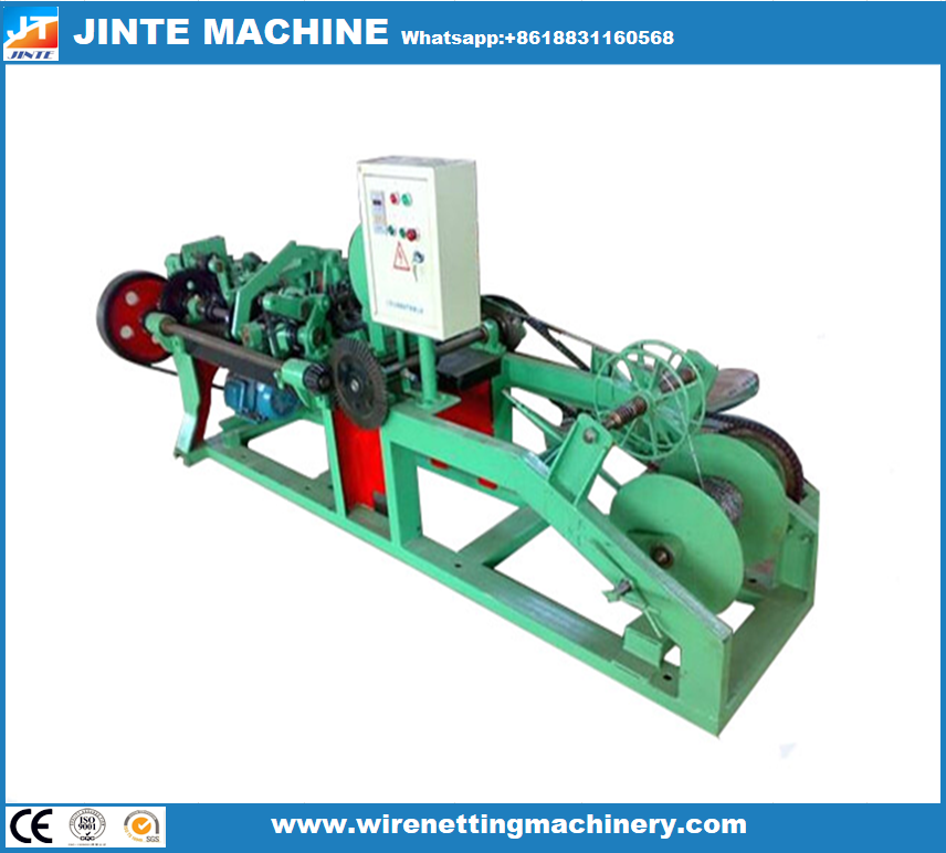 Barbed Wire Machine Is Used To Produce Barbed Wire Which Is Widely Used For Safety Protection Function National Defense Animal Husbandry Playground Fence Agr