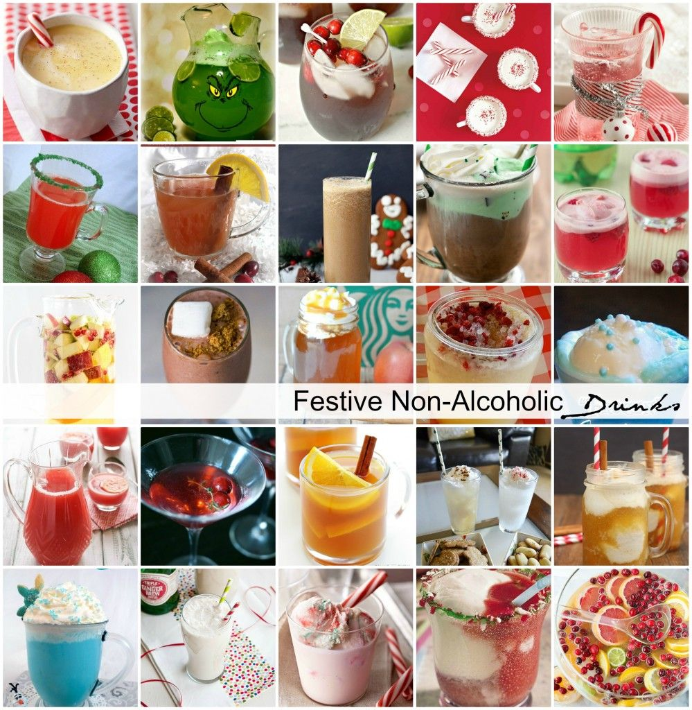 Festive Holiday Non-Alcoholic Drinks (With Images)