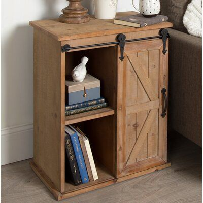 Gracie Oaks Banbury End Table with Storage | Wayfair