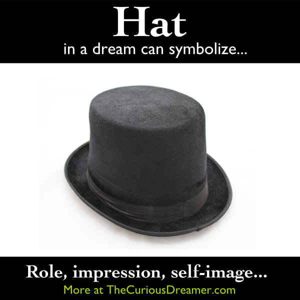 A Hat As A Dream Symbol Can Mean More At Thecuriousdreamer Com Dreammeaning Dreamsymbol Dream Symbols Dream Interpretation Dream Meanings