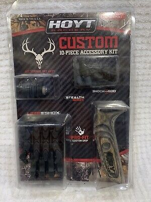 Color Kits Hoyt Archery Custom 10-Piece Accessory Kit