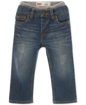 c27afe993c0 Levi s Baby Boys Pull-On Jeans - Blue 12 months