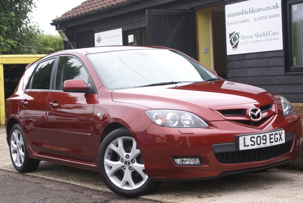 2009 Mazda 3 1.6 Sport for sale at Simon Shield Cars https