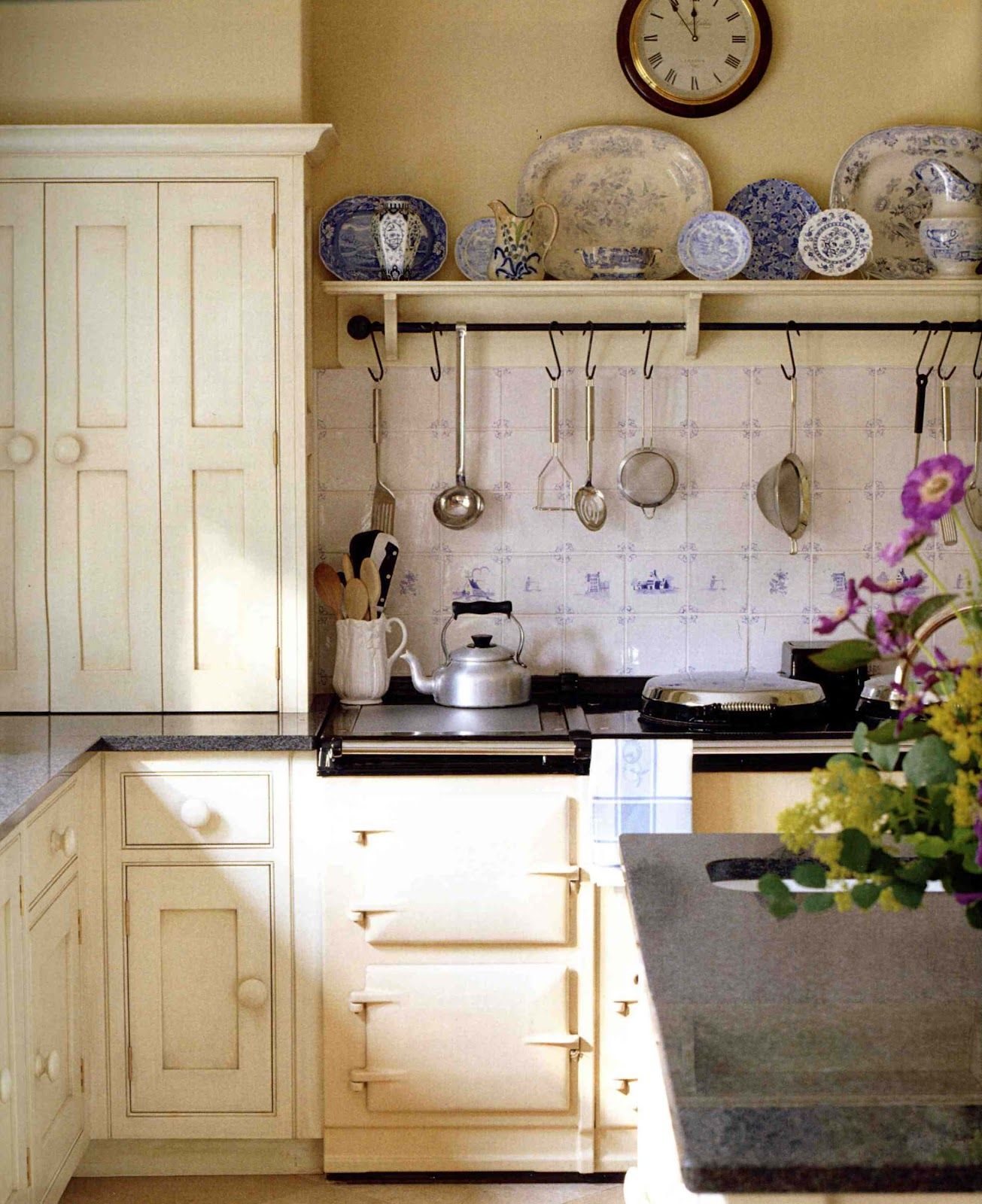 Cottage Kitchen Design Stunning English Cottage Kitchen  Donna's Art At Mourning Dove Cottage Decorating Inspiration