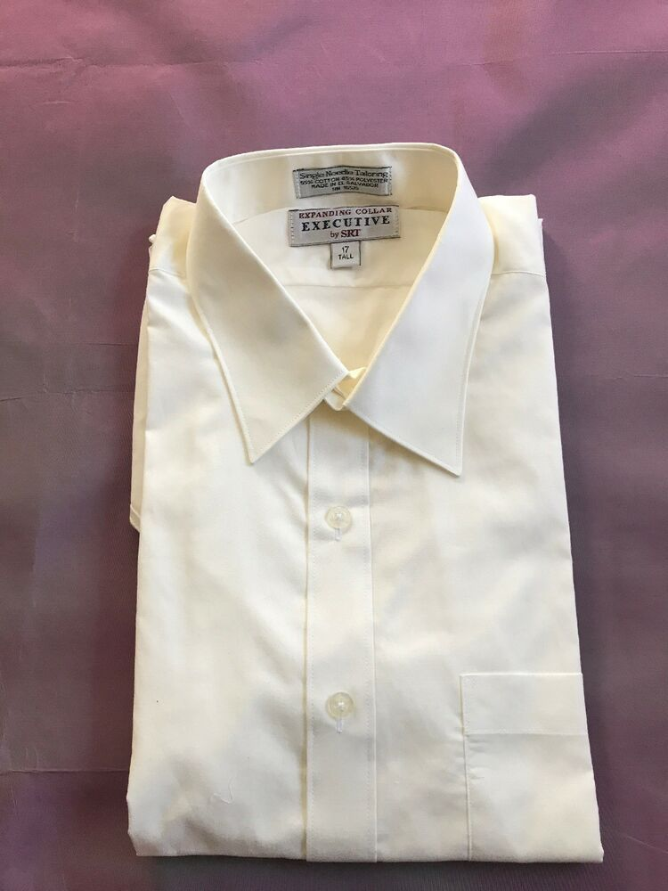2dce6382a Mens Short Sleeve Dress Shirt Cream Color Size 17 Tall New Without Tags  #fashion #clothing #shoes #accessories #mensclothing #shirts (ebay link)