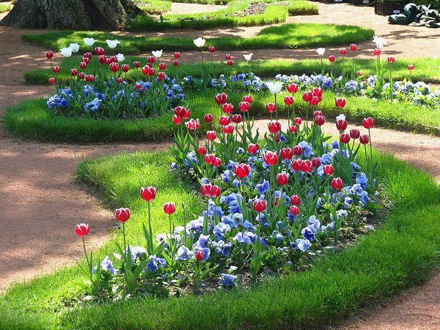 Tulips Garden Inspiration Tulips Garden Front Flower Beds
