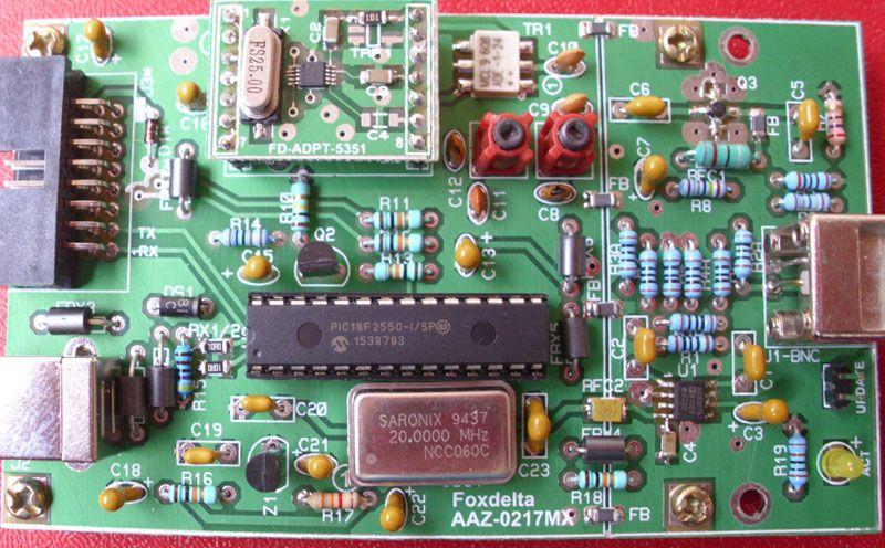 Foxdelta 1 to 60MHZ Antenna analyzer using Si5351: AAZ
