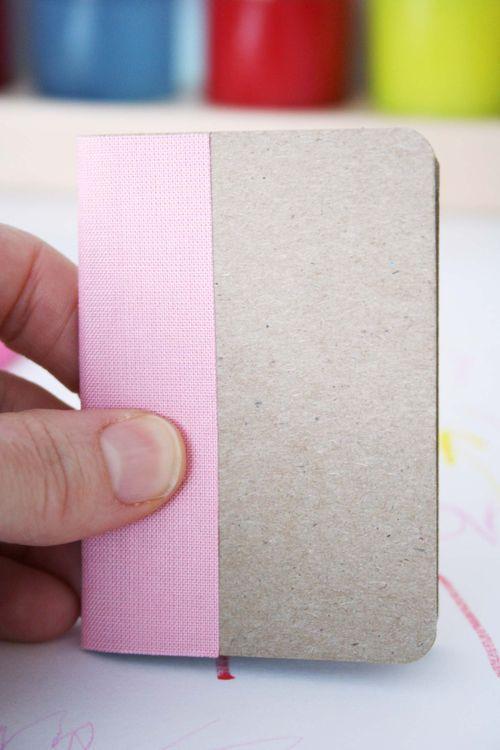 Easy stitch binding