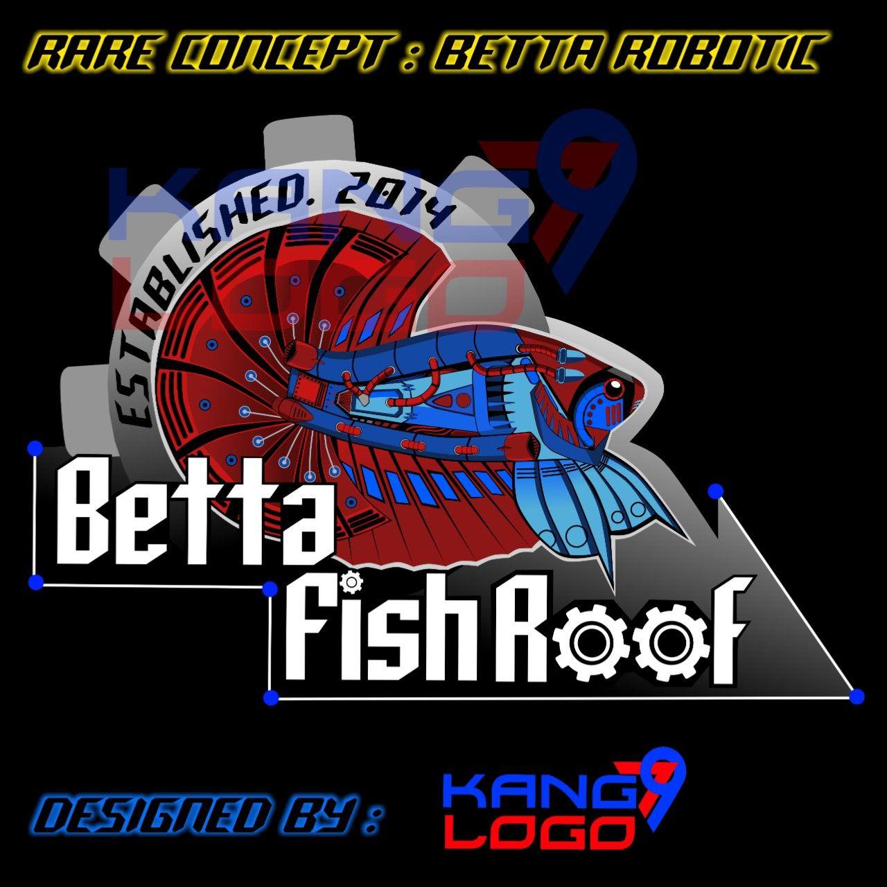 Logo Betta Robot Desain Logo Desain