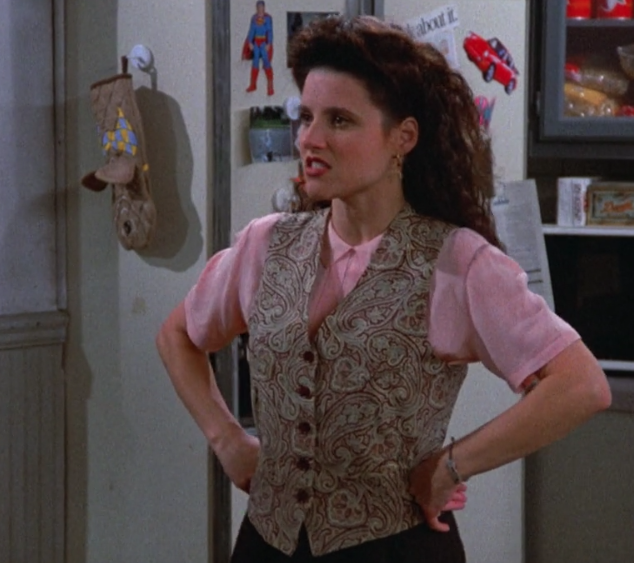 Elaine Benes The Shoes One Of My Favorite Outfits From The Show 3 Elaine Benes Julia Louis Dreyfus Seinfeld Julia Louis Dreyfus