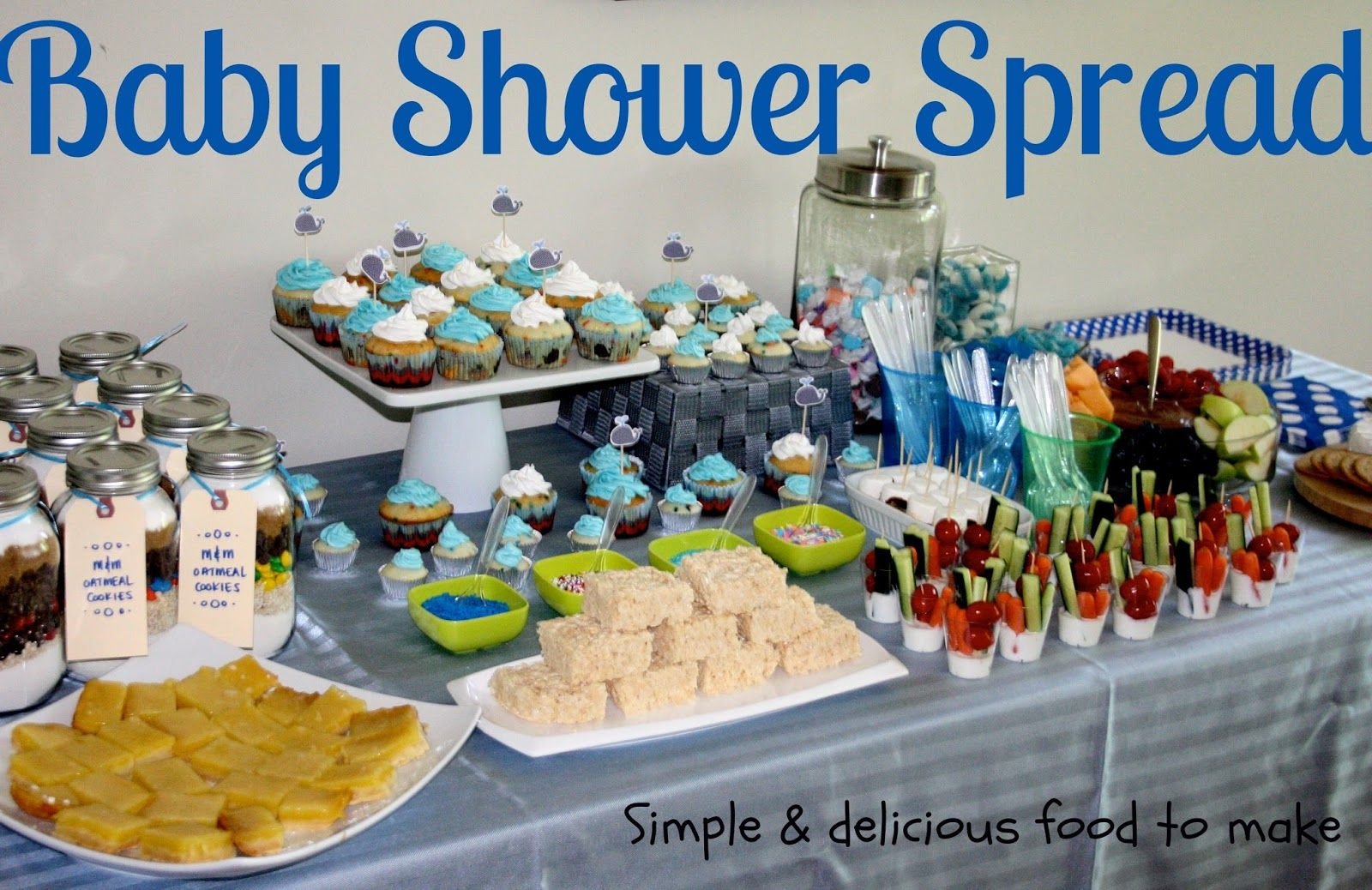 Splendid baby boy shower ideas and decorations beautiful food splendid baby boy shower ideas and decorations negle Gallery