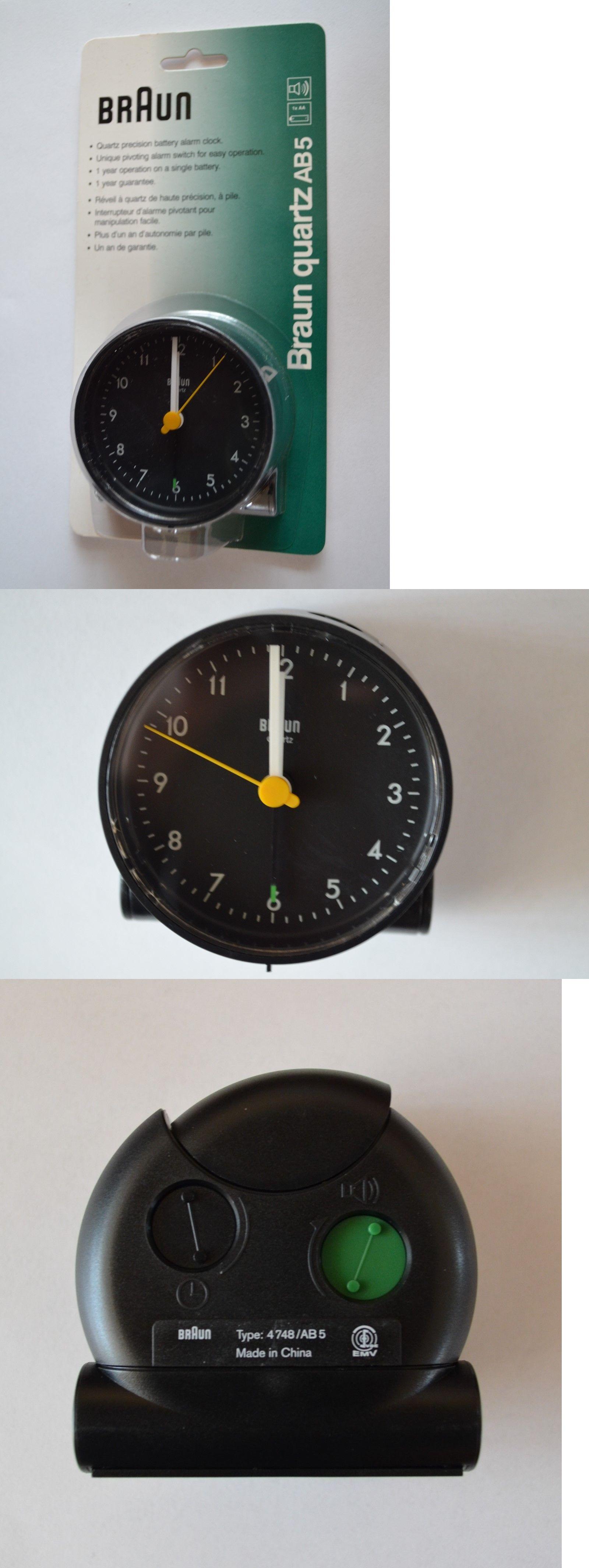 Braun Travel Alarm Clock Quartz Ab5 Travel Alarm Clock Boxes For Sale Clock