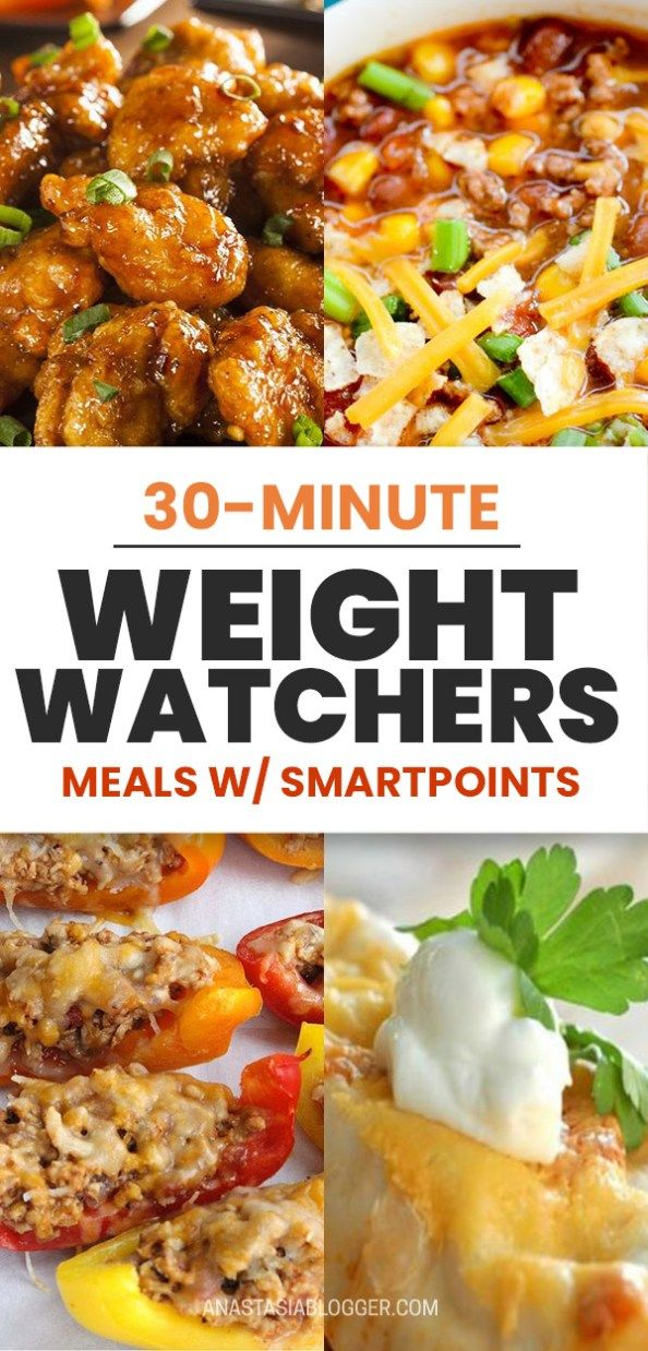 50 Weight Watchers Meals with Points - Simple Dinner Recipes with Smartpoints images