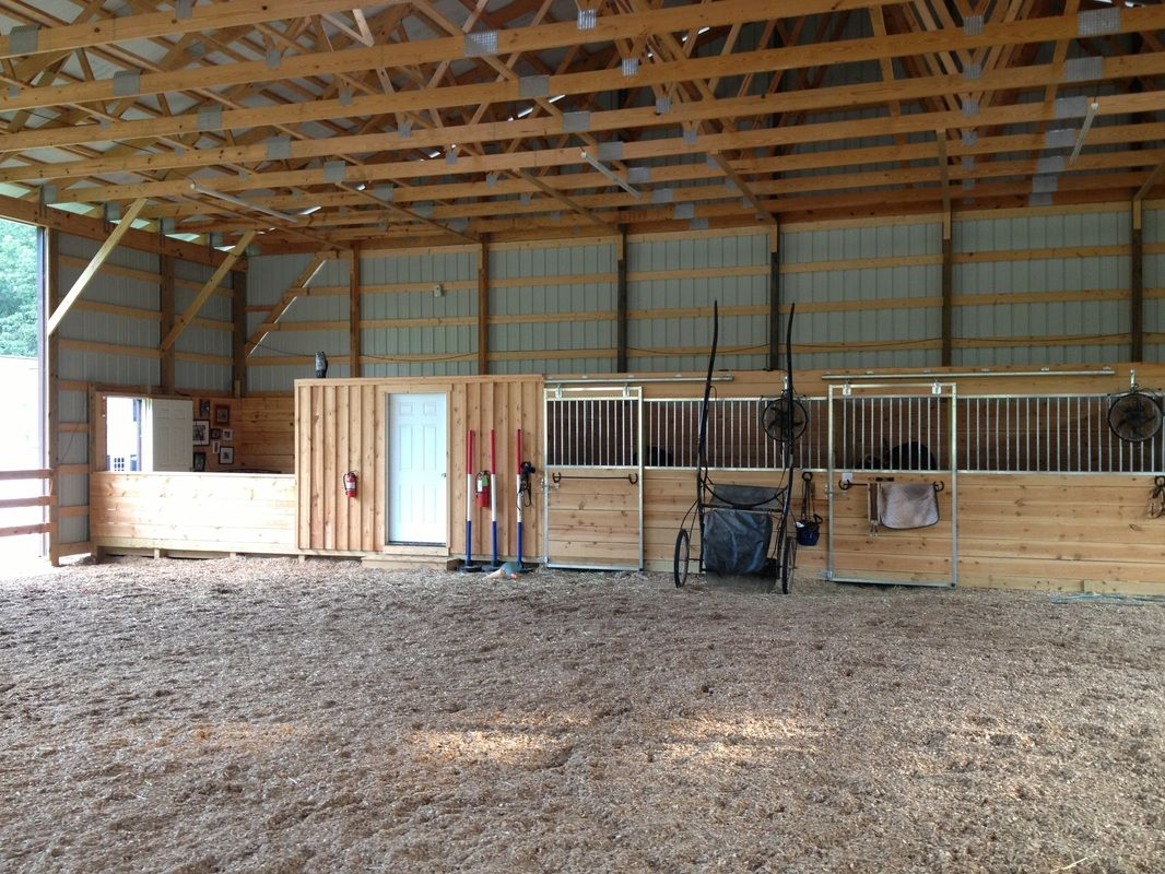 Diy Horse Stall Slide Outdoor Stalls With Tack Room And Arena Viewing Area