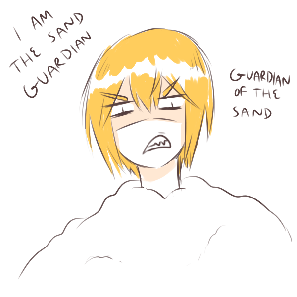 The guardian of the sand! Eizen. part 1 The guardian