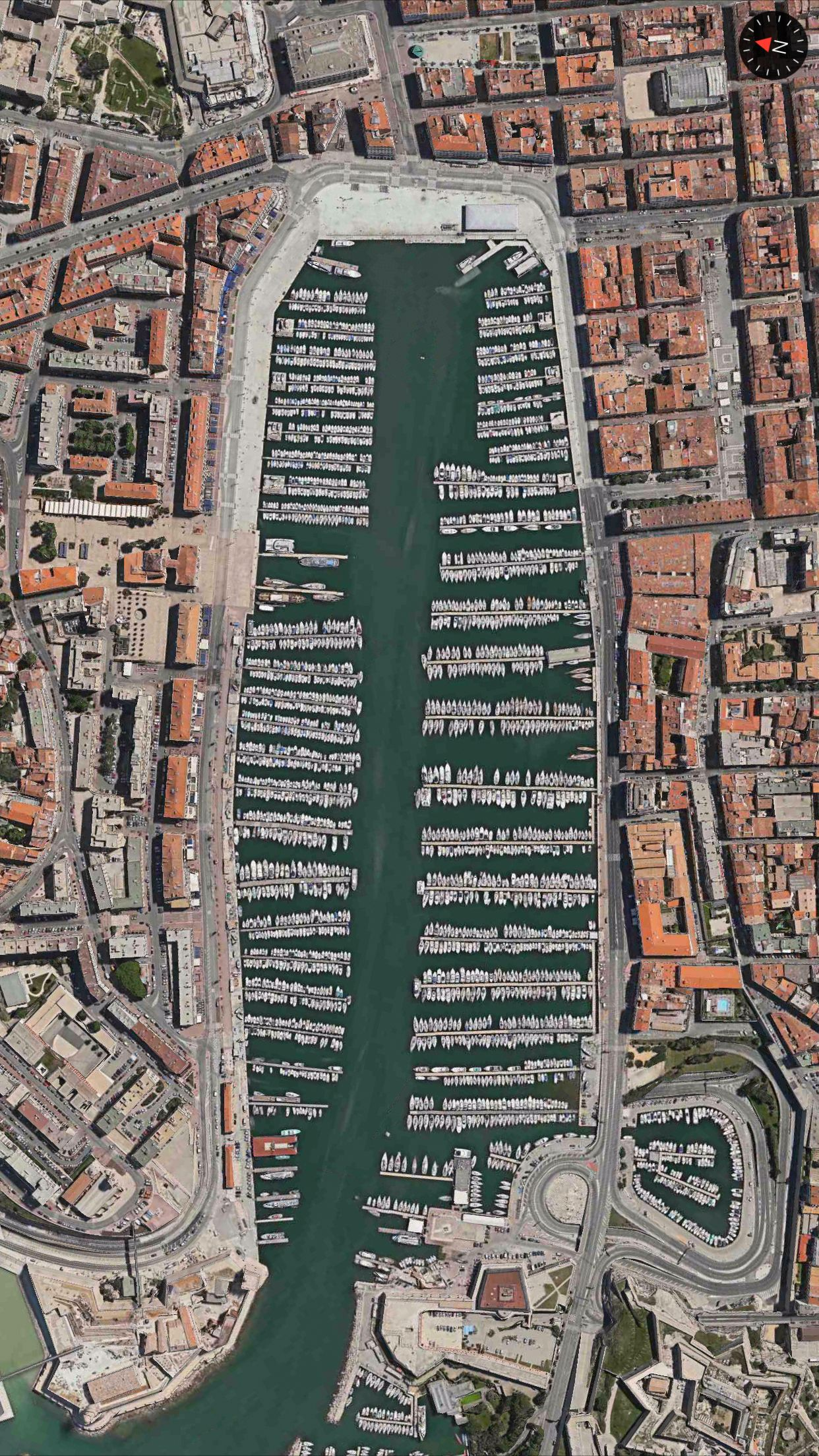 La Vieux Port, Marseille, France.