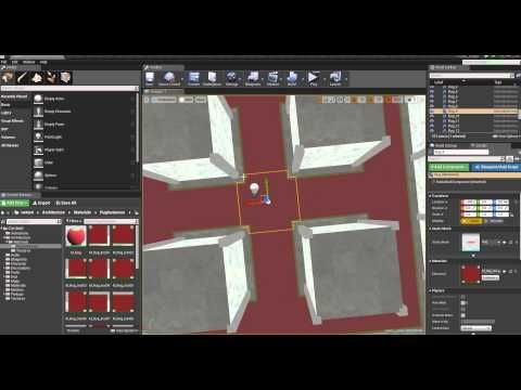 Rotate a Texture in Material | UE4: Material, function | Unreal