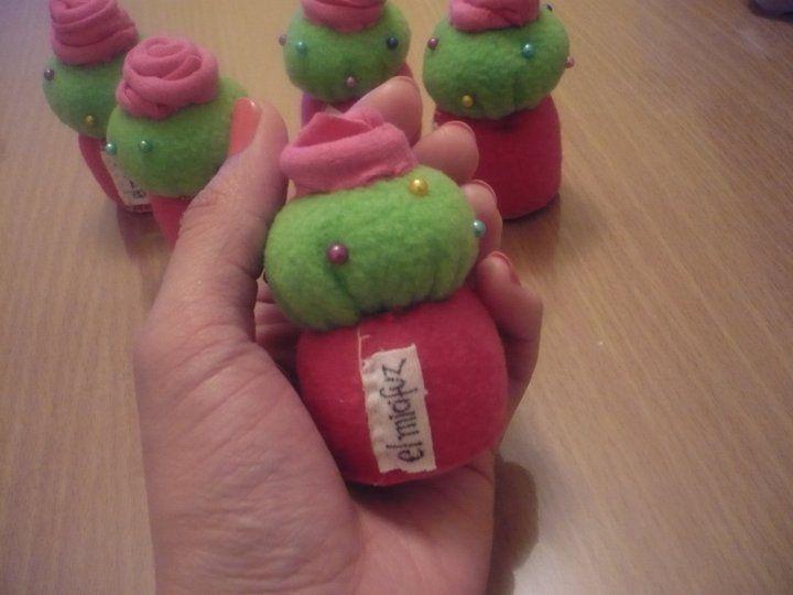 alfileteros cupcakes