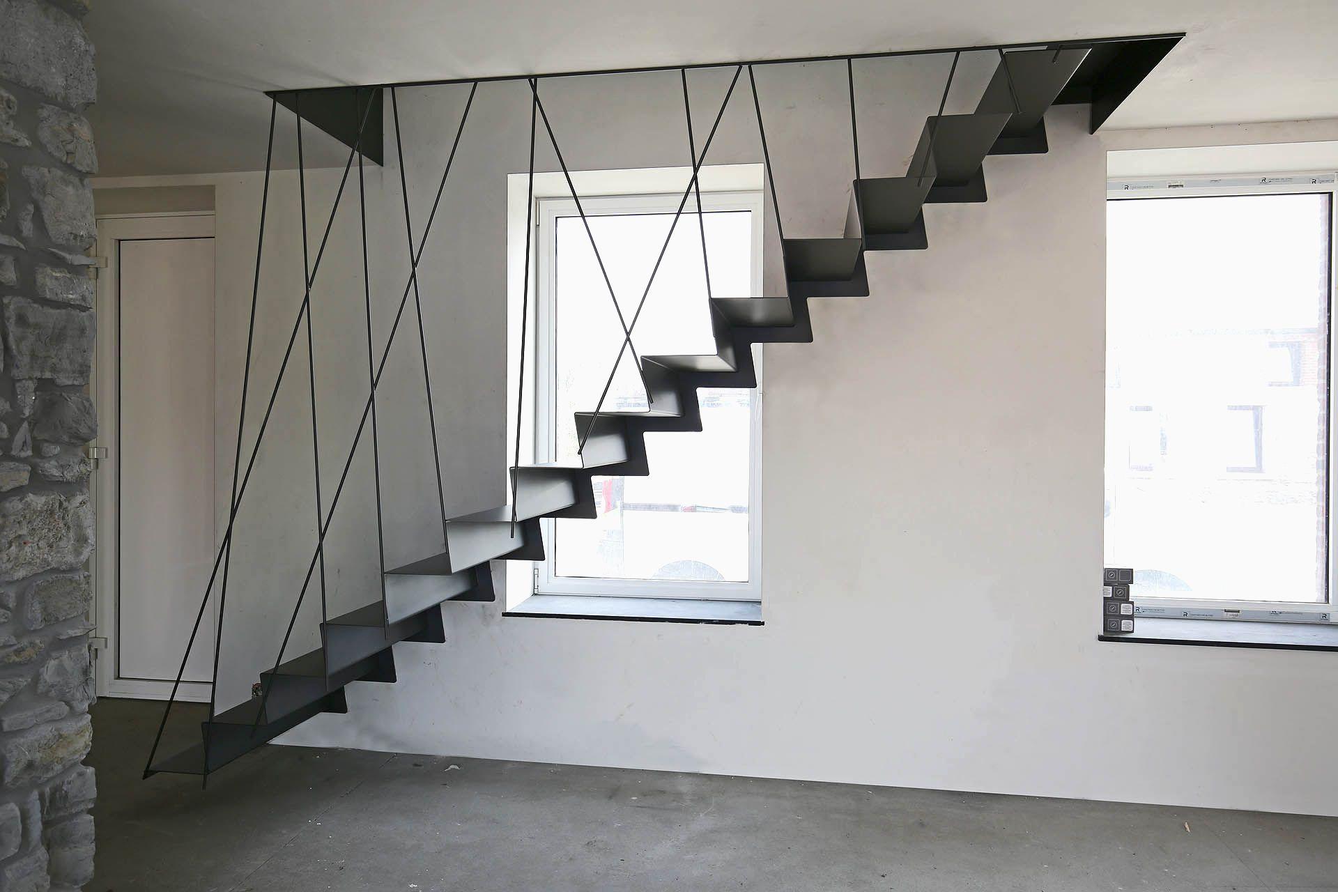 Extrêmement Rampe Escalier Corde Leroy Merlin Unique