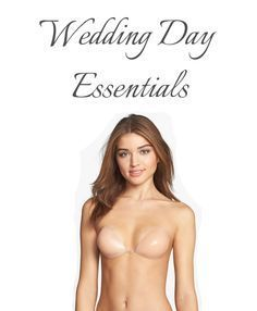 342c0a60e6 What to wear under your wedding dress. Wedding day essentials. -- Nordstrom  Lingerie  N8450  Nu Bra - lingerie