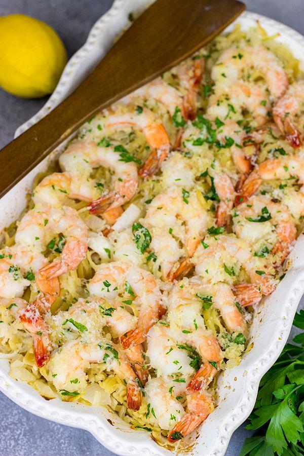 Baked Shrimp Scampi #shrimpscampi