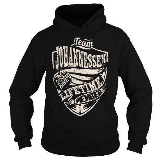 I Love Team JOHANNESSEN Lifetime Member (Dragon) - Last Name, Surname T-Shirt T shirts