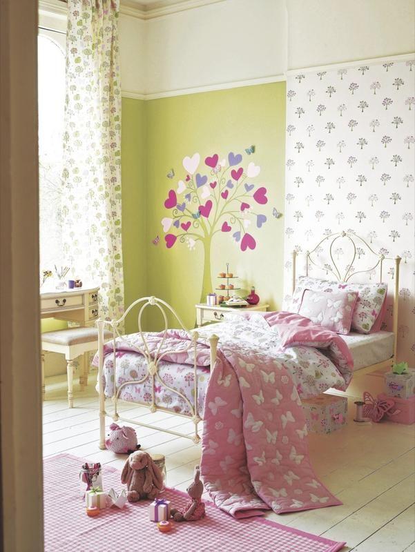 Papel pintado y vinilos para la pared laura ashley - Muebles laura ashley ...