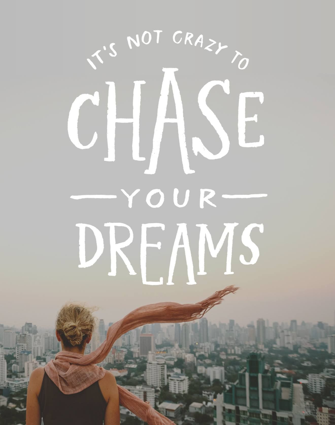 Are you chasing your dream?  Or someone else's?
