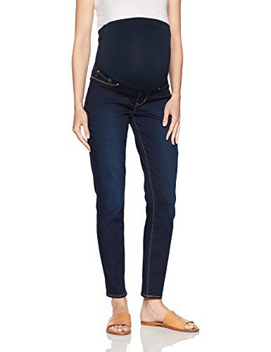 012adf2a2db21 $29.99 Signature by Levi Strauss & Co. Gold Label Women's Maternity Skinny  Jeans, Flip Sig, Medium