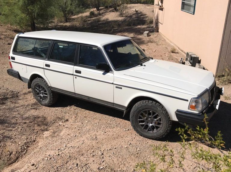For Sale 1989 Volvo 240 With A 5 3 L Lsx V8 Engine Swap Depot Volvo 240 Volvo Engine Swap