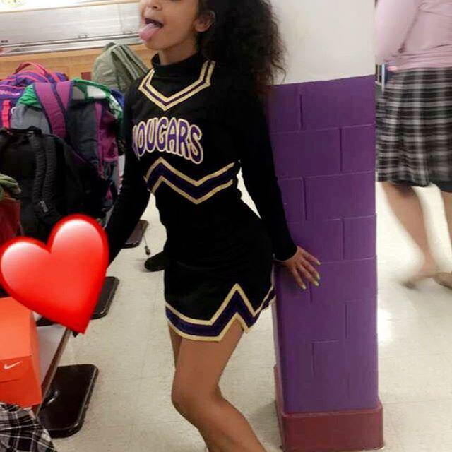 Xo Breaanzo Cheer Outfits Cheerleading Outfits Black Cheerleaders