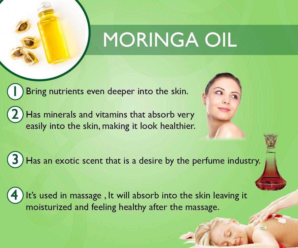 Moringa Oil Skin Benefits