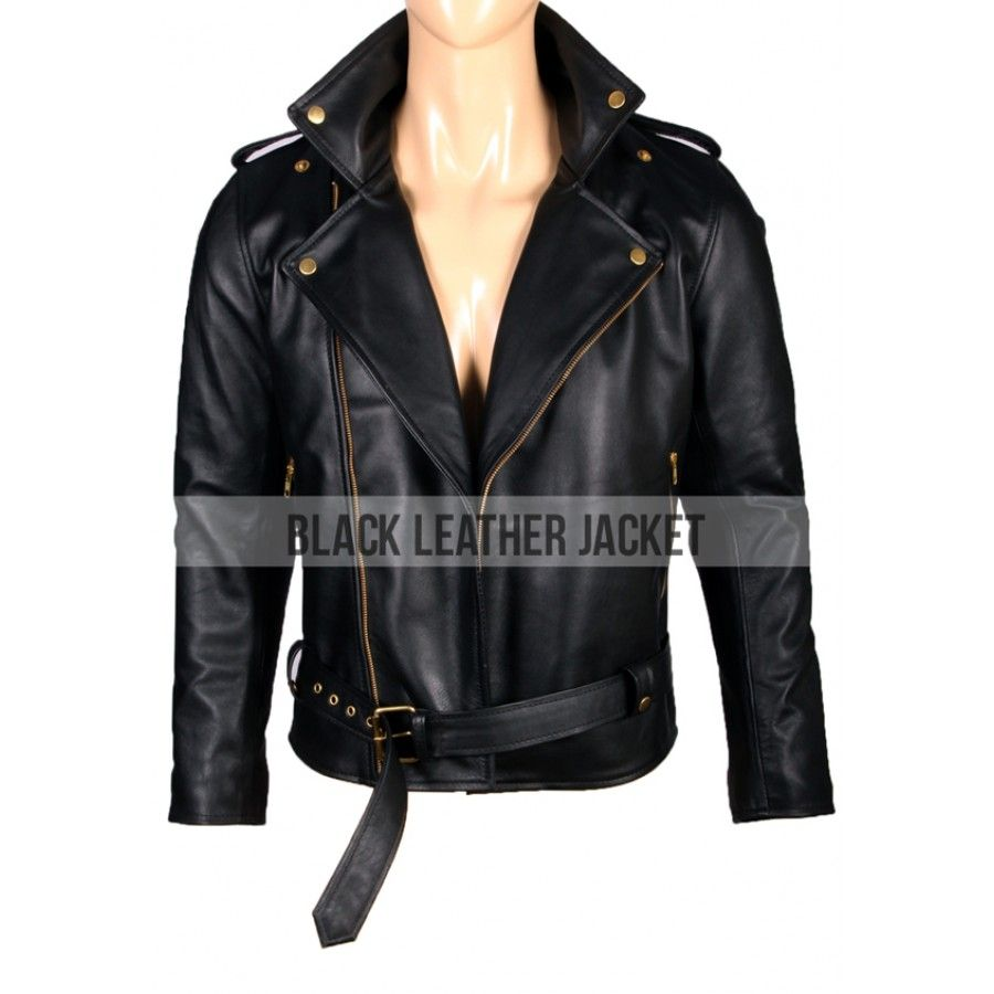Johnny Depp Black Leather Cry Baby Motorcycle Jacket In 2020 Baby Leather Jacket Jackets Leather Jacket