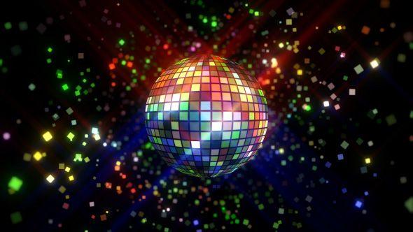 Neon Disco Ball Vj Loop Disco Ball Colorful Backgrounds Disco
