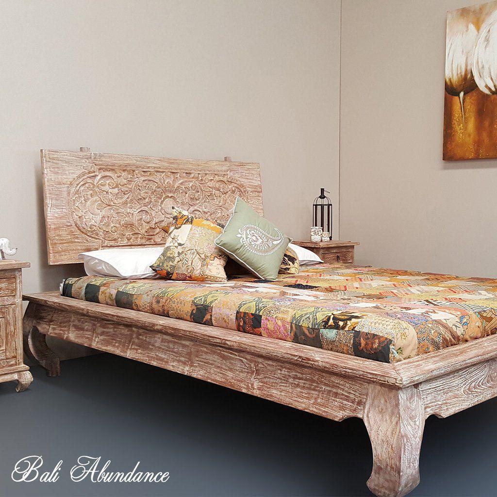 Image Result For Bali Hand Carved Bed Carved Beds Hand Carved Teak Carved Headboard