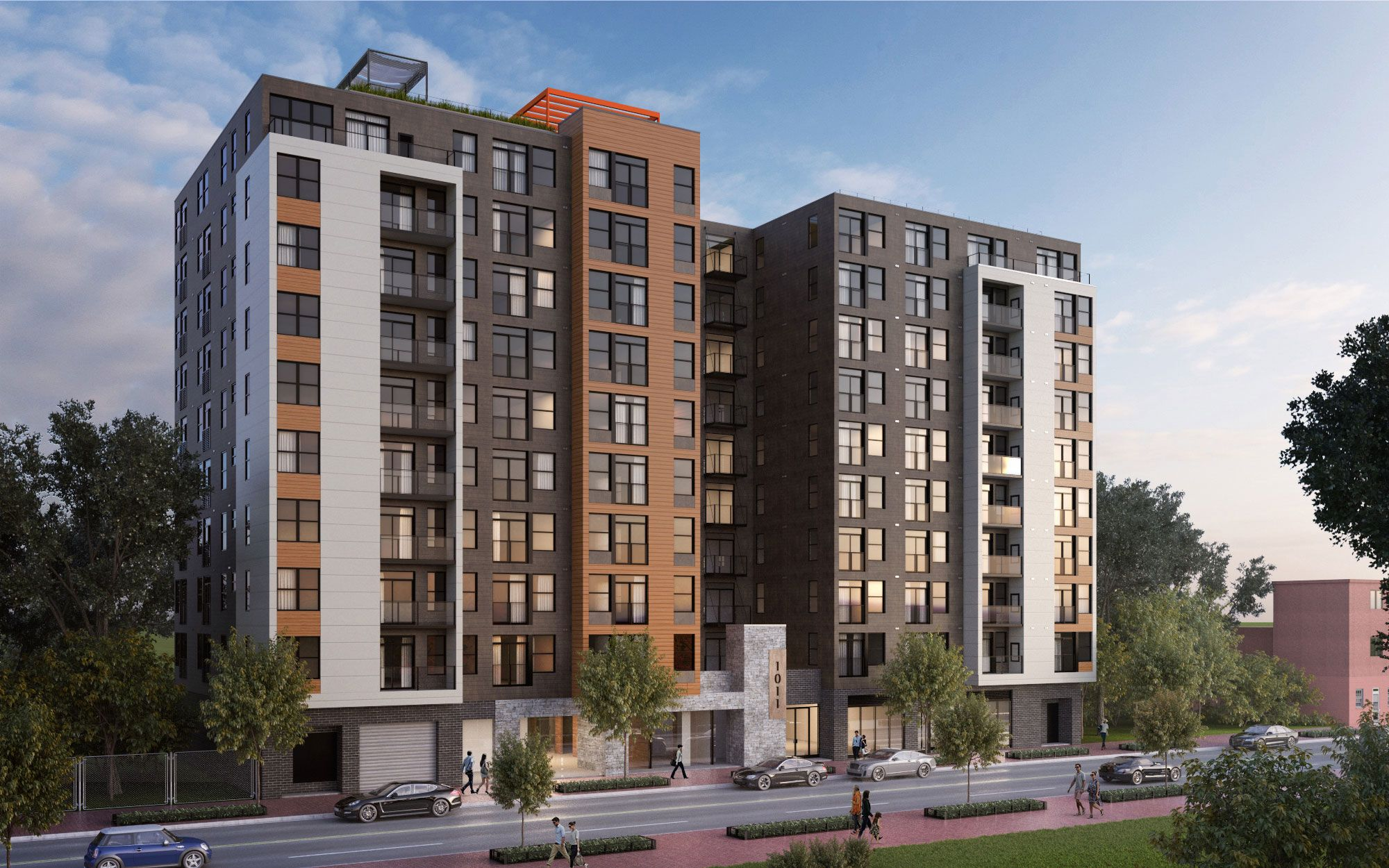 New Modern Apartments In Washington Dc Architecture Building Apartments For Rent