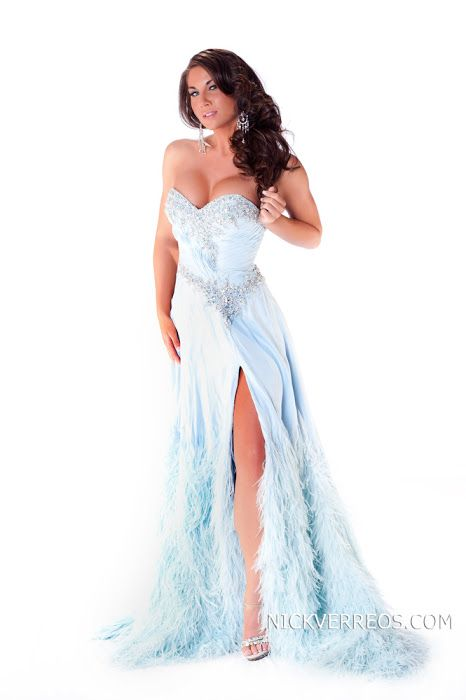 Nick Verreos: Miss USA 2011 Evening Gown Portrait Photos: The
