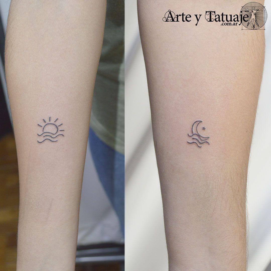 Tatuajes Para Familia Tatuaje De Sol Pequeno Tatuaje De Sol Tatuaje Sol Y Luna