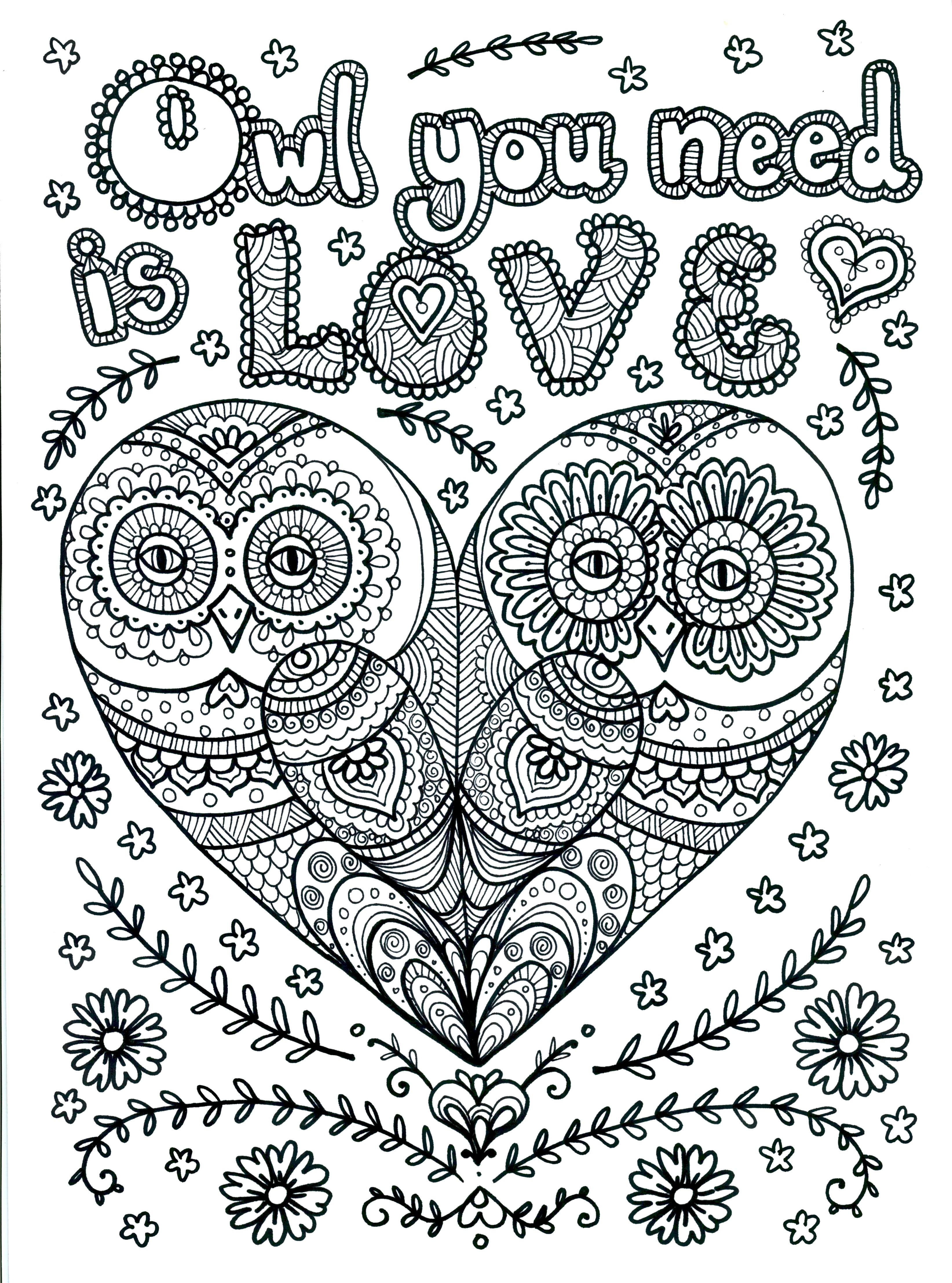 Pin by Amber Lynn on coloring pages | Pinterest | Adult coloring ...