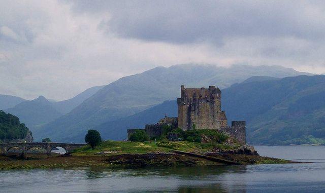 Eilean Donan Castle Wester Ross Lochalsh Scotland