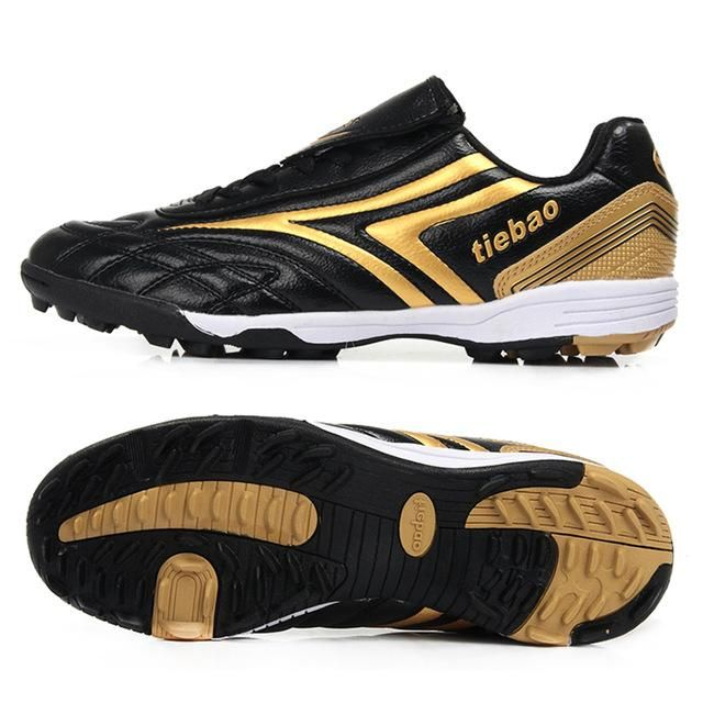 63737a3b9 TIEBAO Professional Children Kids Teenagers TF Turf Sole Football Boots  Sneakers Breathable Training Shoes Outdoor Soccer Shoes