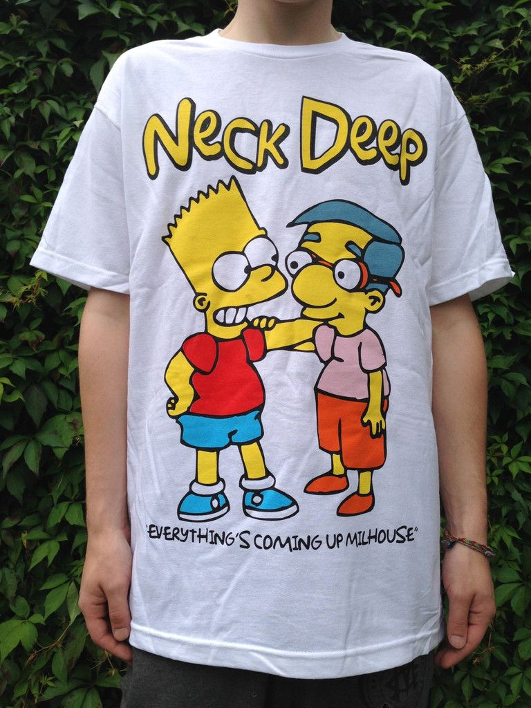d9487a2cbc Everything s Coming Up Milhouse  T-Shirt