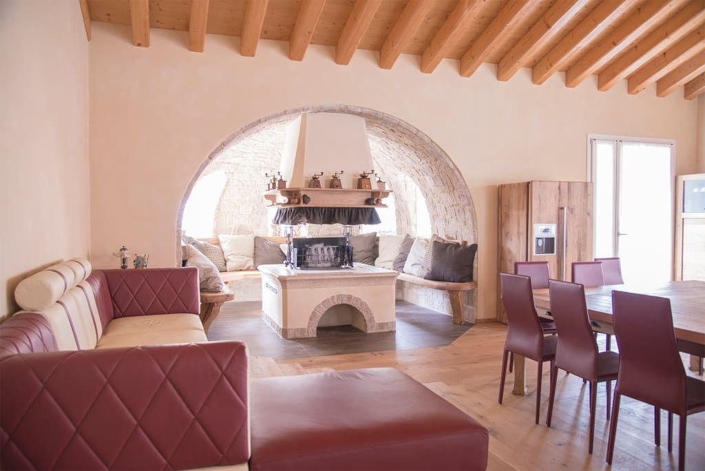 Sala Da Pranzo Rustica : Villa rustica sala da pranzo in stile di ri novo cucina villa