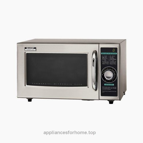 Sharp Electronics R 21lcf Microwave Oven 1000 Watts Stainless