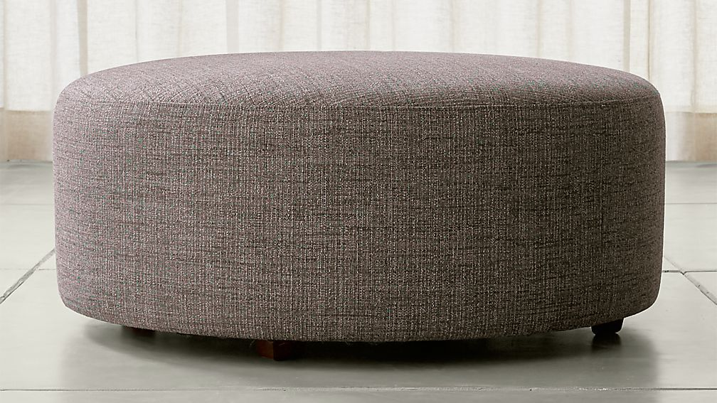 Syd 38 Round Cocktail Ottoman Reviews Crate And Barrel