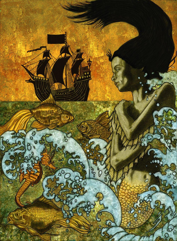 Website Art Mermaid Illustration