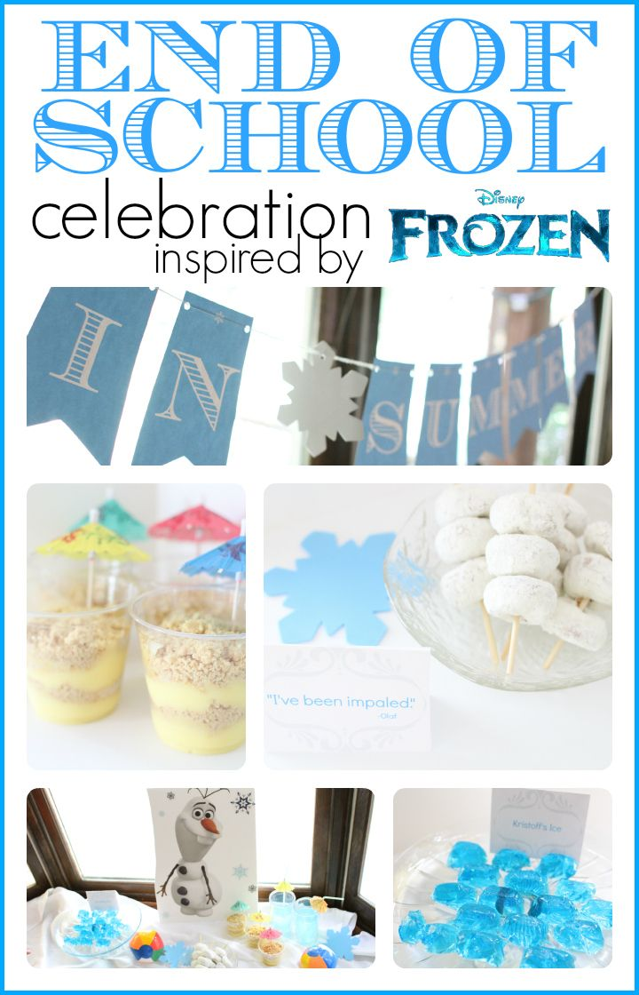 Frozen-inspired End Of School Celebration - I Can Teach My Child!